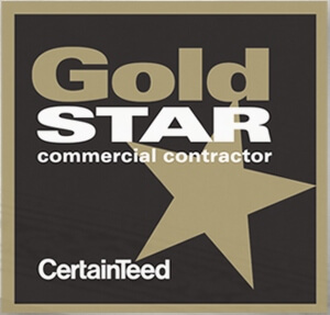 Certainteed Gold Star roofer certification