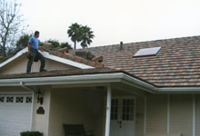 Damaged Roof Flashing Repair