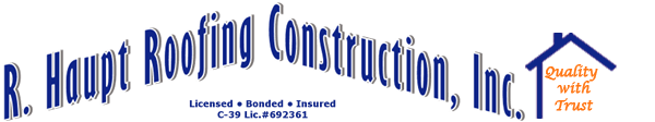 R. Haupt Roofing Construction Inc.