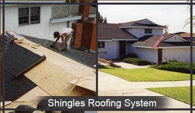 Shingle Re-roofing LA County